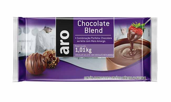Mockup Chocolate Blend Aro - Makro relança linha de chocolates voltada ao público profissional