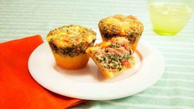Muffin de espinafre com atum 390x220 - Muffin de espinafre com atum