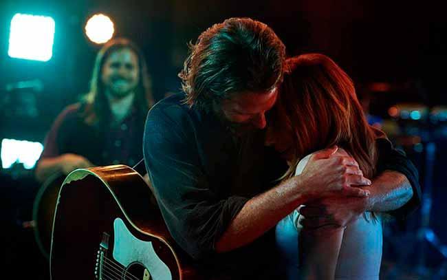 Nasce uma Estrela Bradley Cooper e Lady Gaga - Confira a lista dos indicados ao Oscar 2019