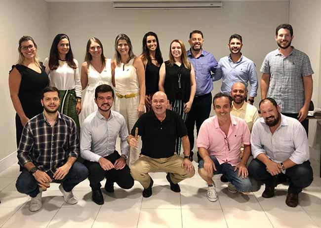Nova diretoria e equipe executiva da Acibalc - Acibalc empossa nova diretoria e coordenadores de núcleo em fevereiro