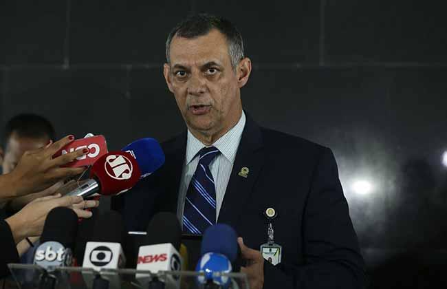 O porta voz da Presidência da República Otávio do Rêgo Barros - Após cirurgia, Bolsonaro passa o dia em repouso em São Paulo