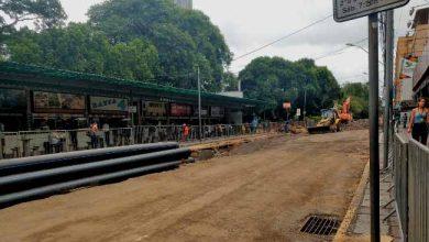 Obras avançam pela Lima e Silva e ônibus voltam para Magalhães Calvet 390x220 - Obras avançam pela Lima e Silva e ônibus voltam para Magalhães Calvet