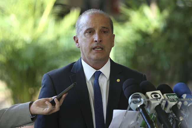 Onyx Lorenzoni comandará a Casa Civil - Partidos de oposição querem adiar votação da reforma da Previdência