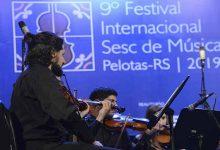 Orquestra Academica Regente Cecilia Espinosa COL Foto Flavio Neves 220x150 - Alunos de São Leopoldo participam do 9º Festival Internacional Sesc de Música em Pelotas