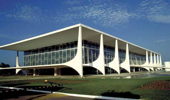 Palácio do Planalto Brasília DF - Estrutura para posse de Bolsonaro está pronta