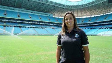 Patrícia Gusmão retorna ao Grêmio 390x220 - Patrícia Gusmão é a nova técnica do futebol feminino do Grêmio
