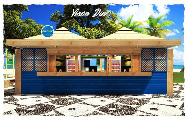 Prezunic inaugura quiosque na Barra 1 - Supermercado na praia é a novidade do verão carioca