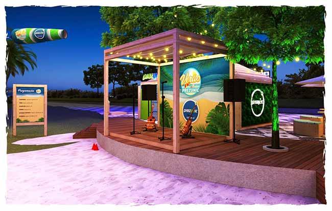 Prezunic inaugura quiosque na Barra - Supermercado na praia é a novidade do verão carioca