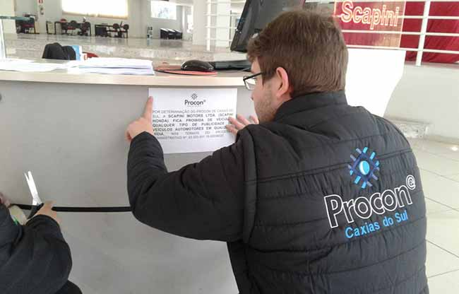 Procon de Caxias do Sul - Procon de Caxias aplica R$ 4,9 milhões em multasem 2018