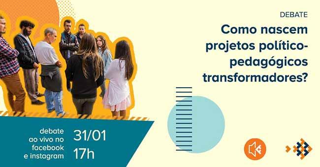 Programa Escolas Transformadoras 1 - Programa Escolas Transformadoras promove debate ao vivo