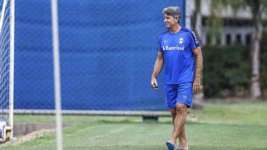 Renato acompanha treino do Grêmio 390x220 - Renato Portaluppi acompanhou treino na tarde de ontem (08)