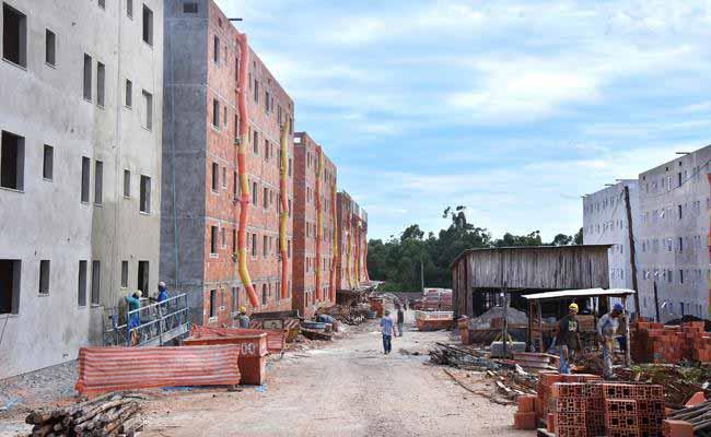 Residencial Salgado Filho - Novo Hamburgo: Residencial Salgado Filho está 60% concluído