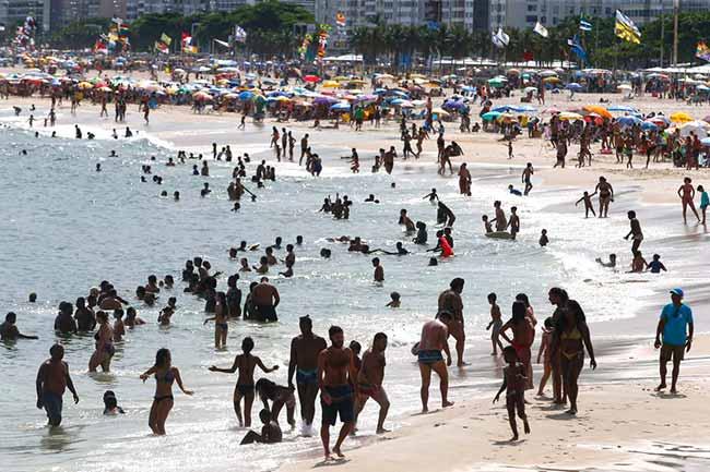 Rio superou os 40 graus até o dia 23 deste mês - Entenda quais são os efeitos que o calor excessivo produz em seu corpo