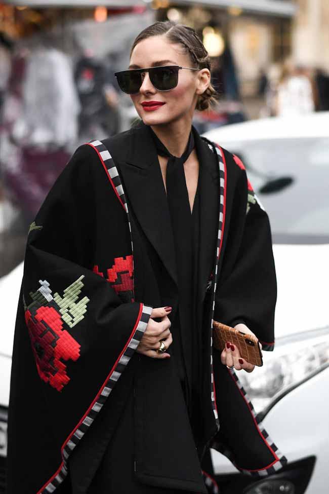 Salvatore Ferragamo6 - Olivia Palermo usa óculos de sol Salvatore Ferragamo em Paris
