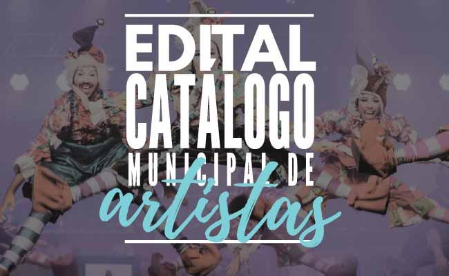 Secretaria de Cultura lança edital para o Catálogo Municipal de Artistas - Secretaria de Cultura lança edital para o Catálogo Municipal de Artistas