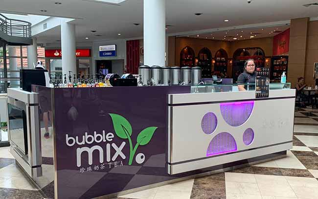 Shopping Crystal inaugura Bubble Mix Tea - Sabor que explode na boca: Shopping Crystal inaugura Bubble Mix Tea