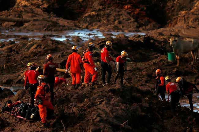 Sobe para 65 número de mortos em Brumadinho desaparecidos somam 279 - Dois engenheiros suspeitos de fraudes em Brumadinho são presos