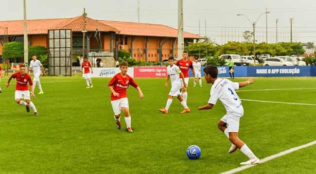 Sub 13 estreia com goleada no Sul Americano da Conmebol 2 - Inter Sub-13 estreia com goleada no Sul-Americano da Conmebol