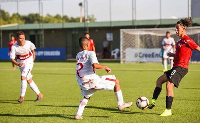 Sub 13 vence mais uma pelo Sul Americano da Conmebol - Inter Sub-13 vence mais uma pelo Sul-Americano da Conmebol