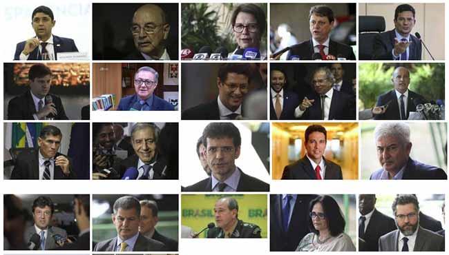 Totos os Ministros do governo Jair Bolsonaro - Ministros do governo Jair Bolsonaro
