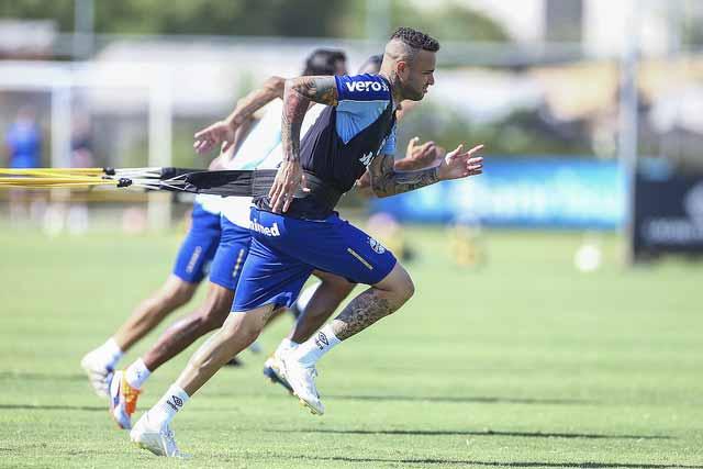 Treio do Grêmio 2019 - Grupo de atletas faz treino técnico no CT Luiz Carvalho
