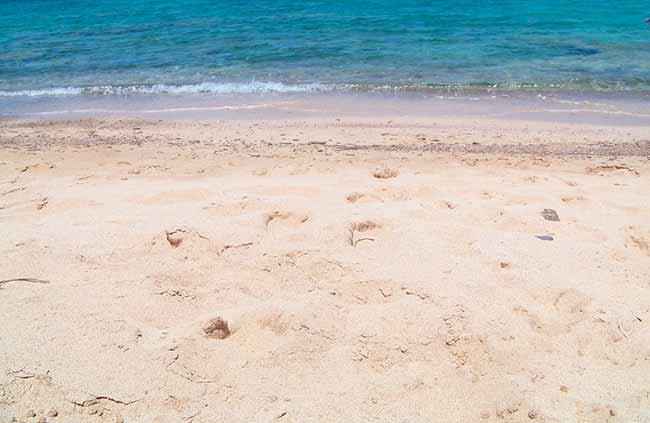 areia - Os perigos na areia e dentro do mar