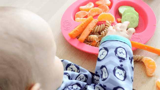 bebecomer - O desenvolvimento do paladar na primeira infância