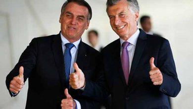 bolso e macri 390x220 - Para Macri, Bolsonaro diz confiar na modernização do Mercosul