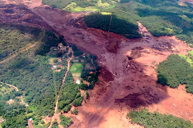 brumadinho barragem - Bolsonaro vai sobrevoar área atingida em Brumadinho neste sábado