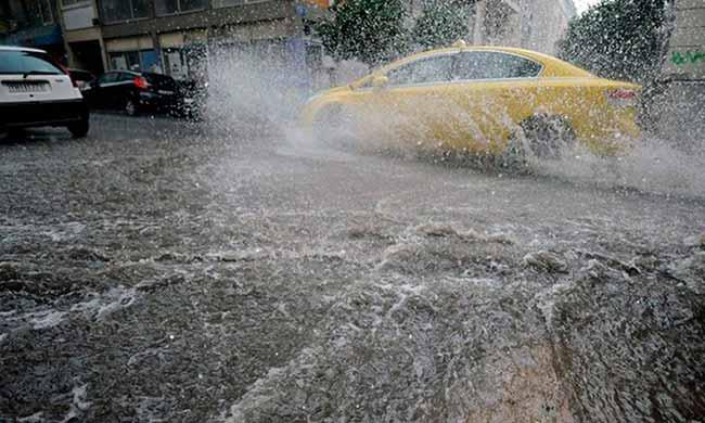 chuv93 - Frente fria volta a intensificar chuvas no RS