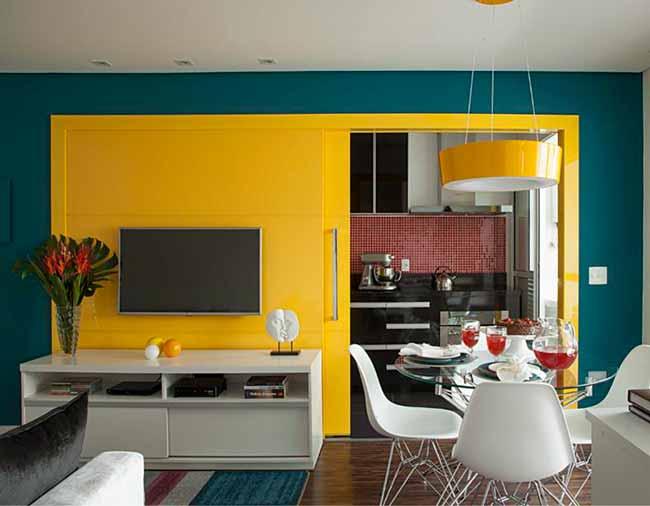 dicas de como integrar salas e cozinhas9 - Dicas de como integrar salas e cozinhas