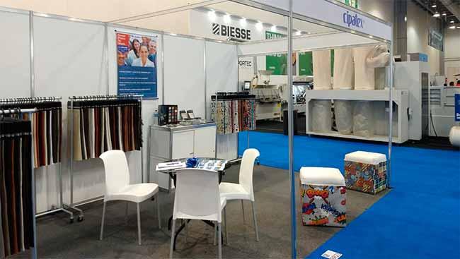 feira cipa - Cipatex apresentou novidades na FeiraMagna Expo Mueblera Industrial