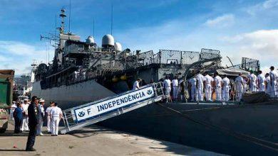 fragata 390x220 - Embarcação da Marinha atraca em Rio Grande e terá visitação no sábado