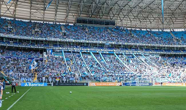 gremio divulga sa cios contemplados para arquibancada norte - Grêmio divulga sócios contemplados para Arquibancada Norte