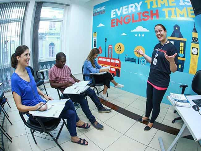 ingl - Senac-RS promove oficina gratuita online de inglês para viajantes
