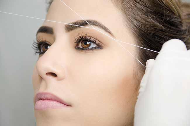 linha - Benefícios da depilação com linha