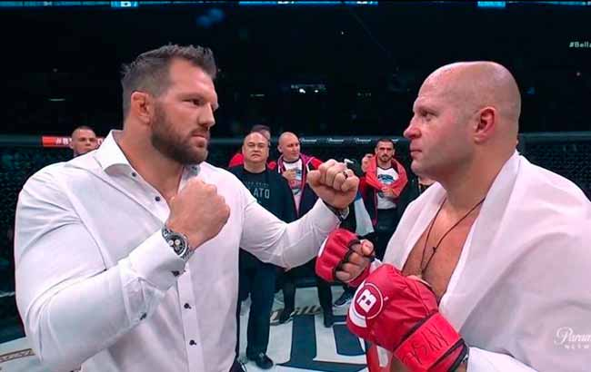 luta - FOX Sports transmite ao vivo a final entre Fedor X Bader