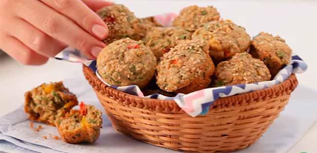 muffin espinafre - Muffin de Espinafre