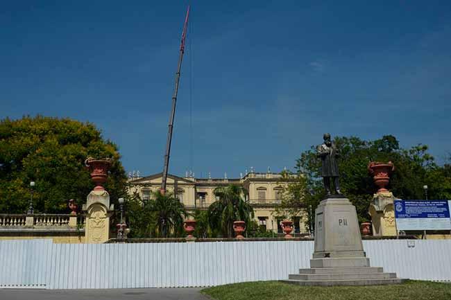 museu nacional - BNDES vai liberar recursos ao Museu Nacional conforme apresentação de orçamentos