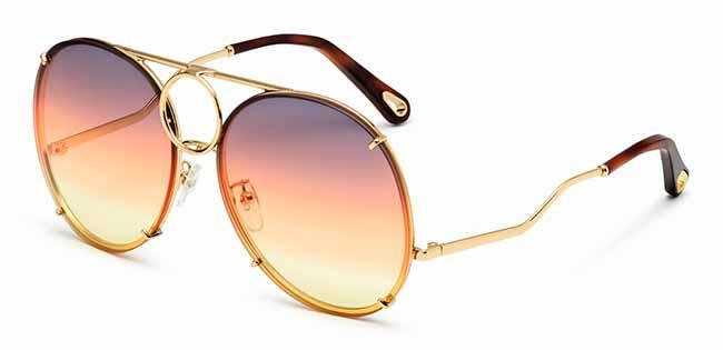 2e6110b93da81 Chloé lança óculos de sol com lentes substituíveis – Revista News