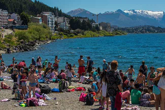 praia de Bariloche3 - Dicas para aproveitar o verão em Bariloche