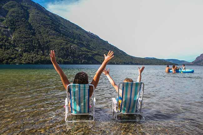 praia de Bariloche5 - Dicas para aproveitar o verão em Bariloche