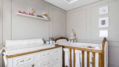 quarto bebe 390x220 - Quartinho de bebê segue o estilo clássico francês