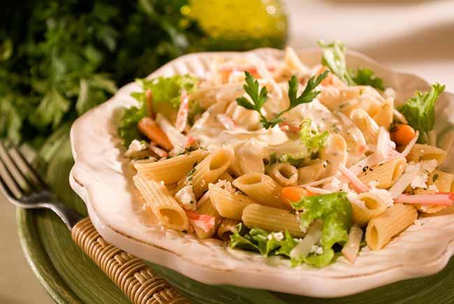 salada isabela - Salada de Penne ao Molho de Laranja