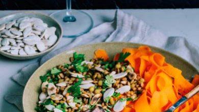 saladarosb 390x220 - Salada de Grãos e Rosbife Caseiro