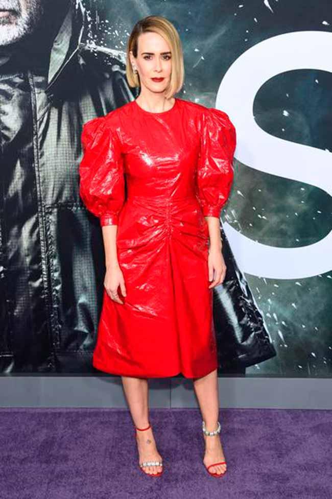 sarah paulson calvin klein - Sarah Paulson veste CALVIN KLEIN 205W39NYC em premiere