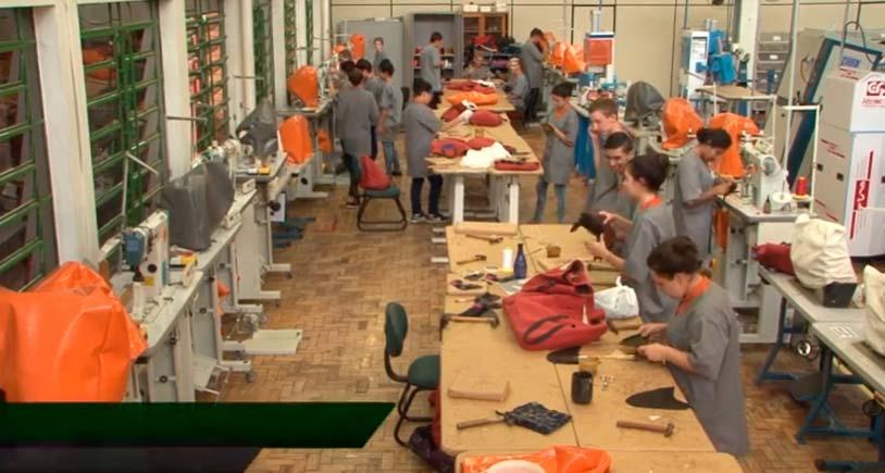 senai fimec - Alunos do Senai-RS vão produzir calçados na Fimec