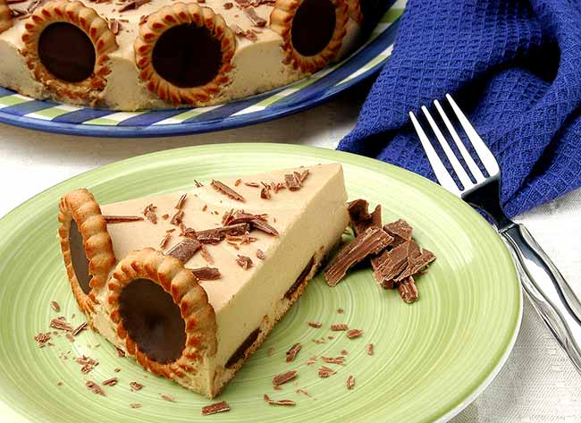 torta mousse isabela - Torta Mousse Holandesa