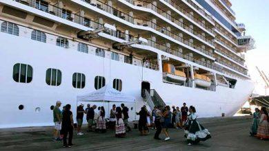 transatlântico da temporada chega ao Porto do Rio Grande 390x220 - Transatlântico de luxo atraca no Porto de Rio Grande
