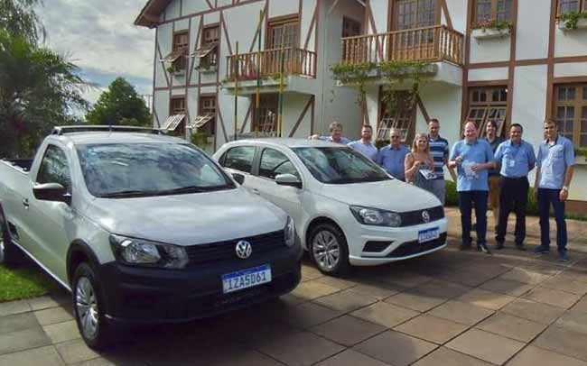 veiculos novos agricultura 2019 1 - Salvador do Sul recebe novos veículos para a agricultura